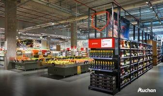 Agena 3000 accompagne Auchan dans sa digitalisation