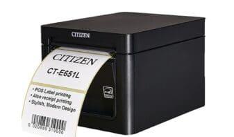 Citizen déploie l'imprimante CT E651L