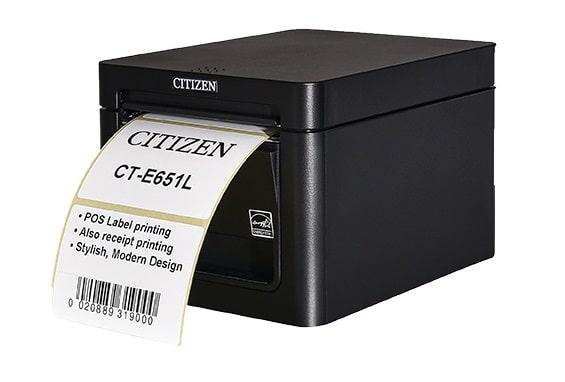 La nouvelle imprimante de Citizen consolide les étiquettes et reçus