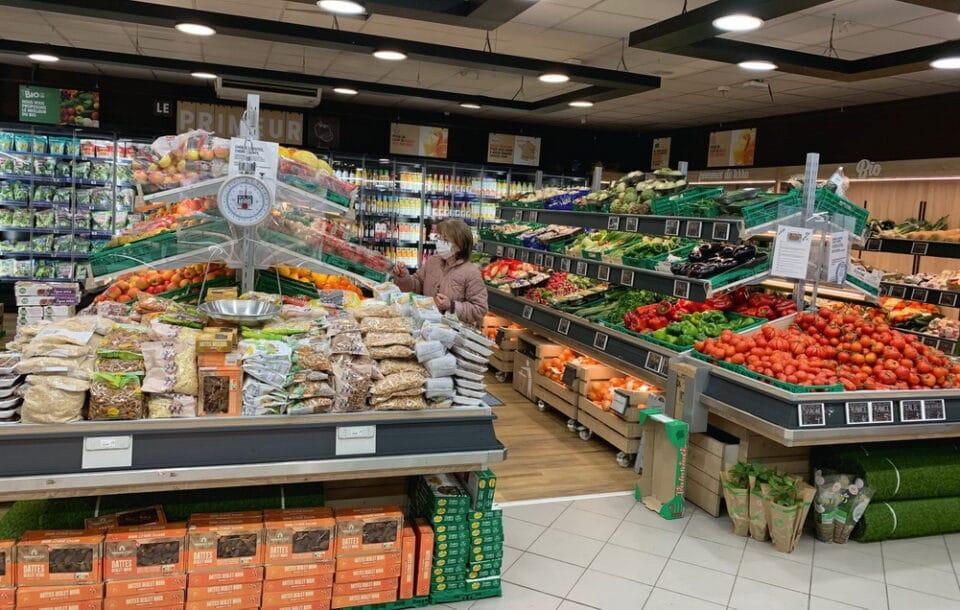 L'Intermarché express de Nice met l'accent sur le frais