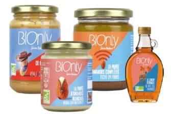 Bionly opère sur les segmaents de l'épicerie sucrée et salée