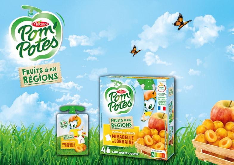 Materne (groupe MOM) veut élargir sa cible en proposant des solutions de snacking dites saines
