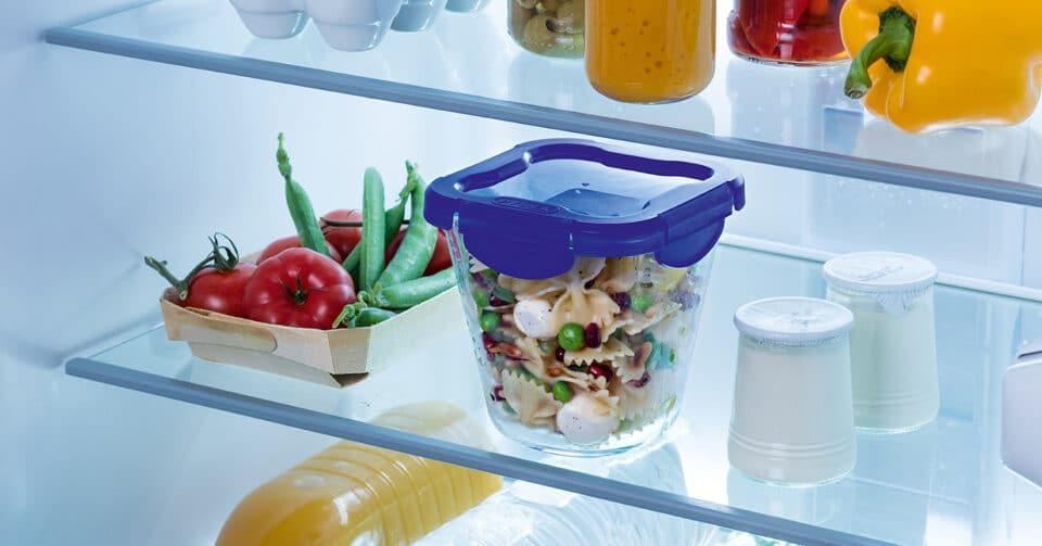 Le verre s'impose sur les boîtes de conservation (Pyrex – Pasta Box) Photos DR
