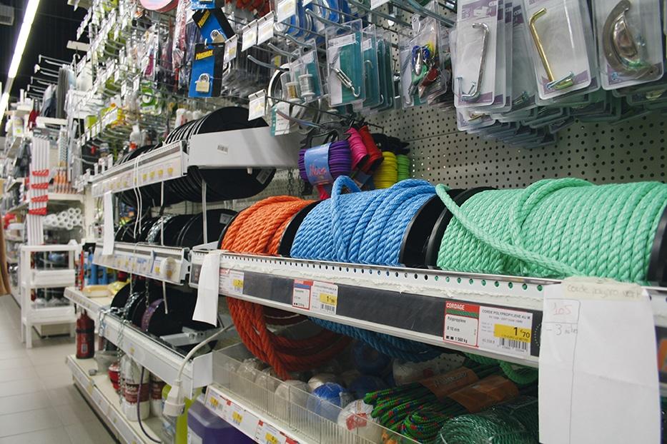 Les 19 magasins de proximité Bricolex proposent plus de 10000 références en bricolage, décoration, produits de ménage, accessoires, jardinage, quincaillerie… Photos DR