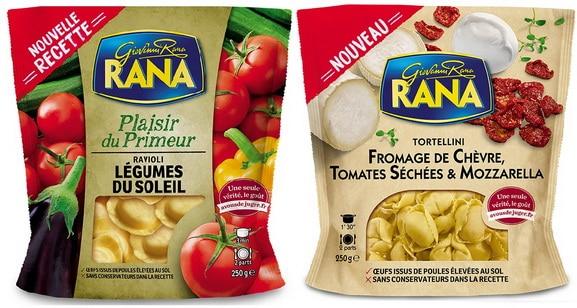 L'Italien Rana lance notamment des saveurs fromagères