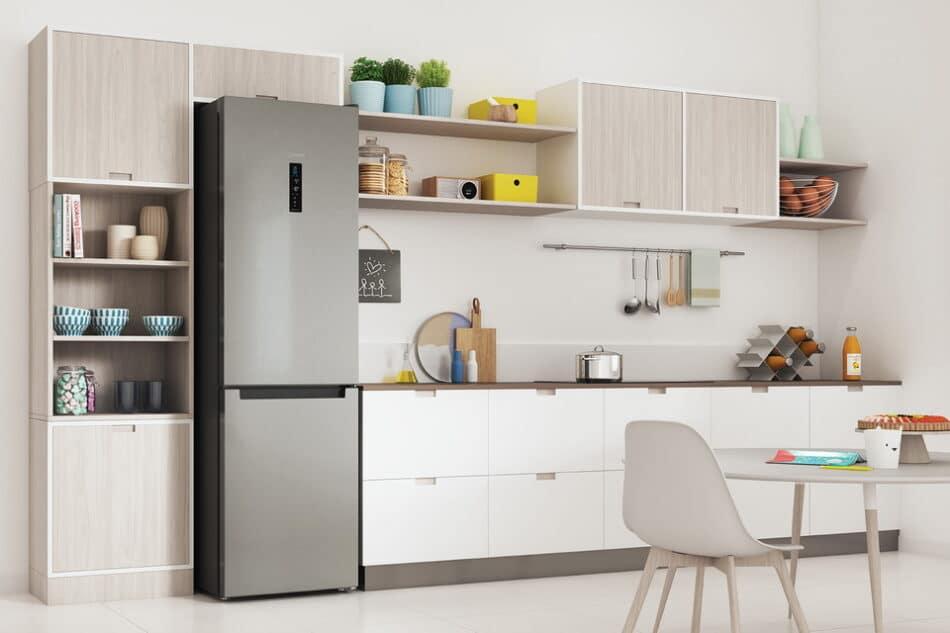 Le réfrigérateur permet en plus d'optimiser l'espace